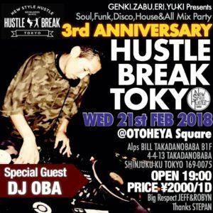 HUSTLE BREAK TOKYO 01
