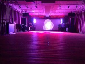 ダンスイベントやリサイタル、ライブで活躍するステージ照明