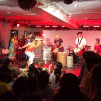 新宿ライブハウス パーカッションダンス ライブ