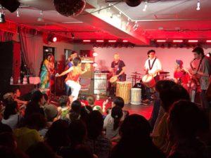 ライブとダンス アフリカ音楽 ダンスイベント