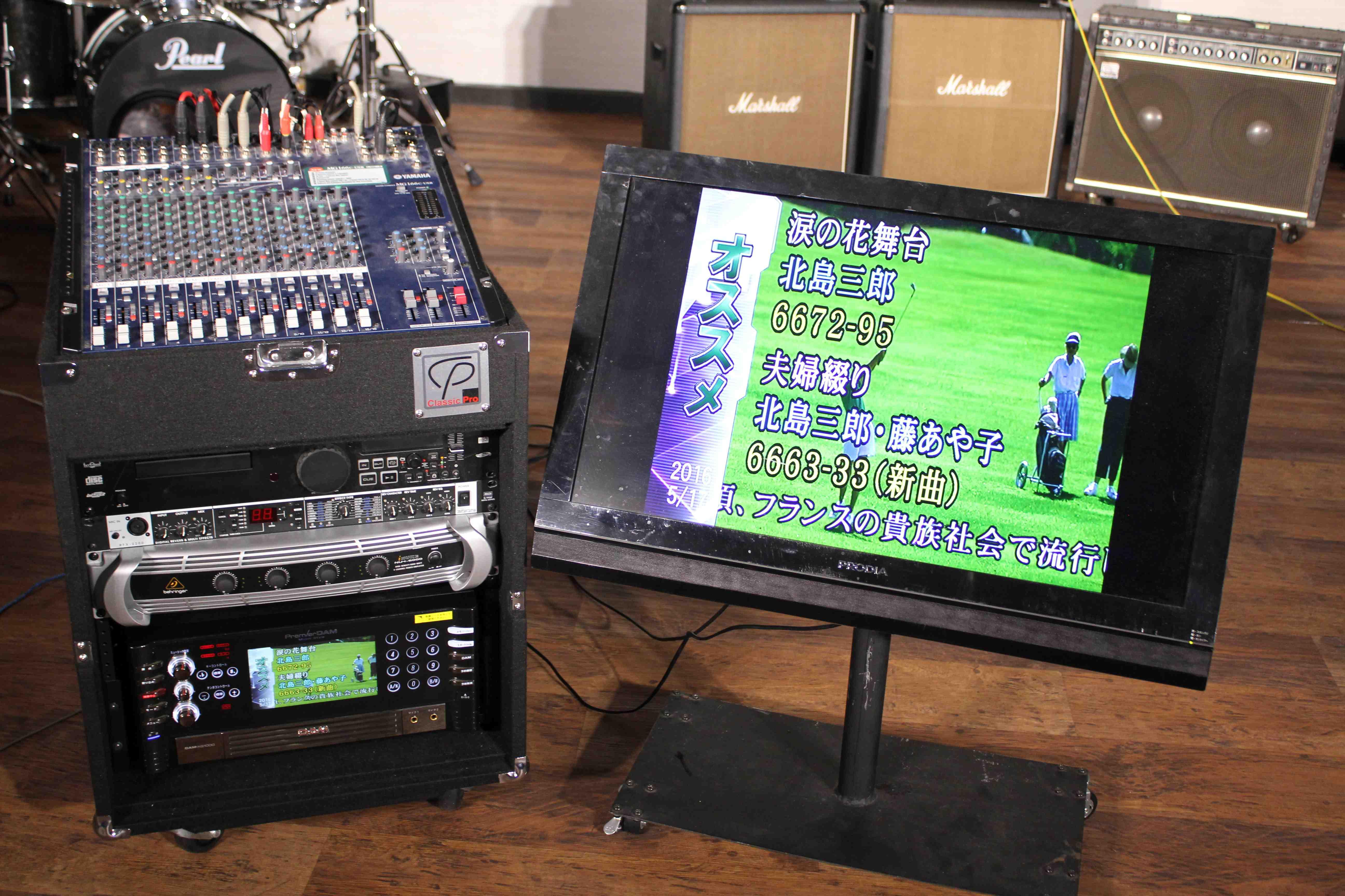 音部屋スクエアで無料利用可能なカラオケ機器