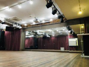 大人数ダンススタジオ 音部屋スクエア ダンスレッスン リハーサル