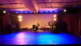 新年会 に使える 音部屋スクエア の ステージ