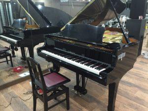 音部屋スクエアにあるグランドピアノ
