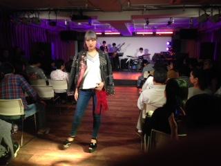 ファッションショー 新宿 音部屋