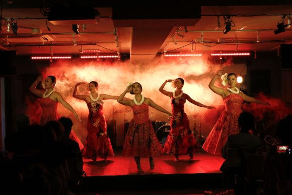 ダンス会場 音部屋スクエア での ダンスイベント の様子