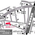 音部屋スクエア 地図マップ