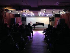 グランドピアノを使ったコンサート