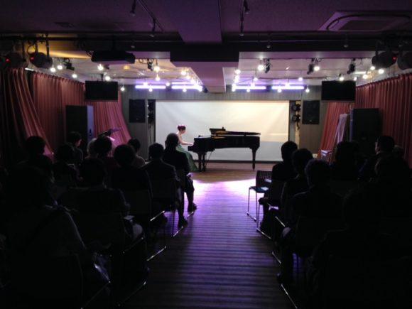 音部屋スクエアのピアノコンサートのレイアウトパターン