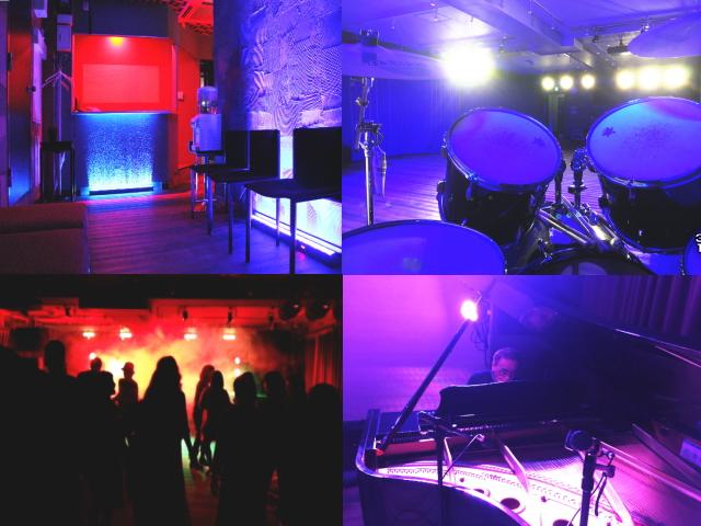 本格的な照明 音響 ステージ 防音 カラオケ グランドピアノ DJ機器 撮影中継配信 豊富な機材や備品が無料のイメージ